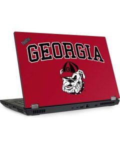 Georgia Bulldogs Lenovo ThinkPad Skin