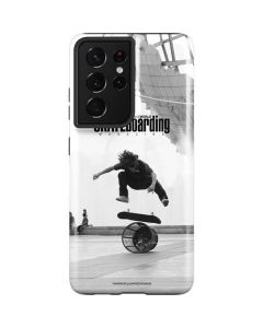 TransWorld SKATEboarding Black and White Galaxy S21 Ultra 5G Case