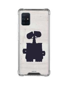 WALL-E Silhouette Galaxy A51 5G Clear Case