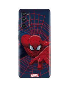 Spider-Man Crawls Galaxy S20 Fan Edition Skin