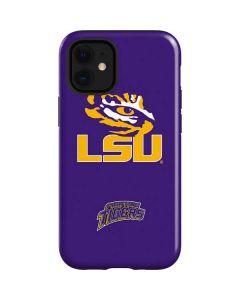 LSU Tiger Eye Purple iPhone 12 Mini Case