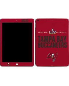 Super Bowl LV Champions Tampa Bay Buccaneers Apple iPad Skin