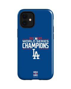 2020 World Series Champions LA Dodgers iPhone 12 Mini Case