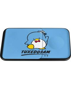 Tuxedosam Waves Hello Wireless Charger Duo Skin