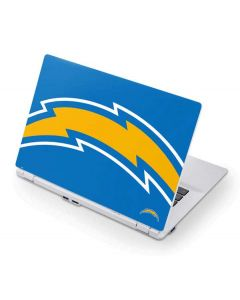 Los Angeles Chargers Large Logo Acer Chromebook Skin