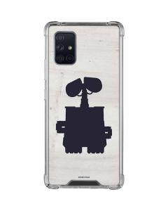 WALL-E Silhouette Galaxy A71 5G Clear Case