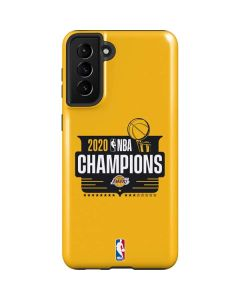 2020 NBA Champions Lakers Galaxy S21 Plus 5G Case