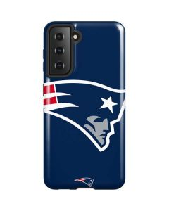 New England Patriots Large Logo Galaxy S21 5G Case