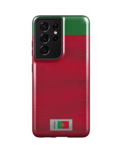 Portugal Soccer Flag Galaxy S21 Ultra 5G Case