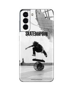 TransWorld SKATEboarding Black and White Galaxy S21 5G Skin