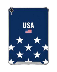 USA Flag Stars iPad Air 10.9in (2020) Clear Case