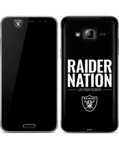 Las Vegas Raiders Team Motto Galaxy J3 Skin
