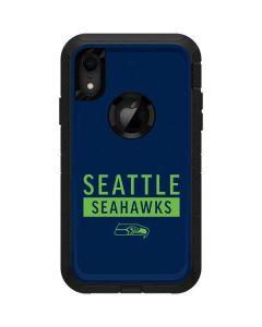 Seattle Seahawks Blue Performance Series Otterbox Defender iPhone Skin