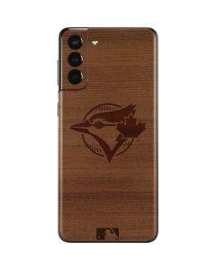 Toronto Blue Jays Engraved Galaxy S21 Plus 5G Skin