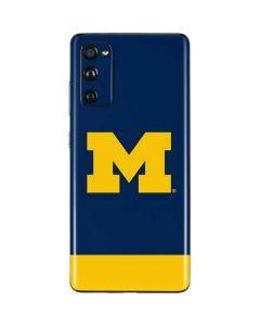 University of Michigan Logo Galaxy S20 Fan Edition Skin