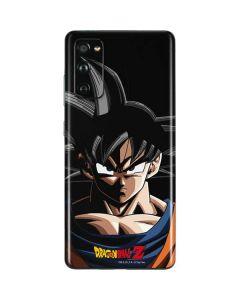 Goku Portrait Galaxy S20 Fan Edition Skin
