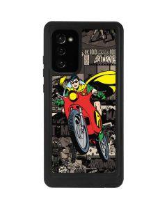 Robin Mixed Media Galaxy Note20 5G Waterproof Case