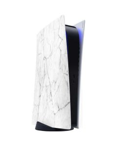 White Marble PS5 Digital Edition Console Skin