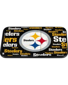 Pittsburgh Steelers Black Blast Wireless Charger Duo Skin