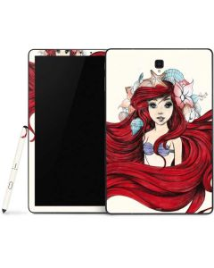 Ariel Illustration Samsung Galaxy Tab Skin