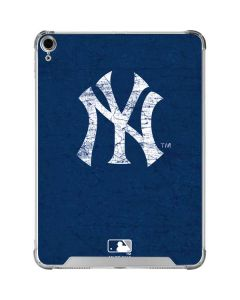 New York Yankees - Solid Distressed iPad Air 10.9in (2020) Clear Case
