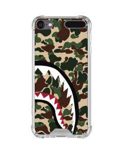 Shark Teeth Street Camo iPod Touch (5th-6th-7th Gen) Clear Case
