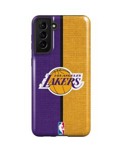 Los Angeles Lakers Canvas Galaxy S21 Plus 5G Case