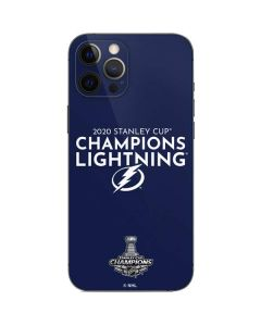2020 Stanley Cup Champions Lightning iPhone 12 Pro Max Skin