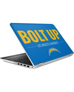 Los Angeles Chargers Team Motto HP Pavilion Skin