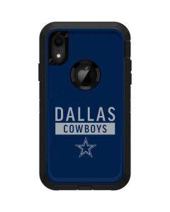 Dallas Cowboys Blue Performance Series Otterbox Defender iPhone Skin