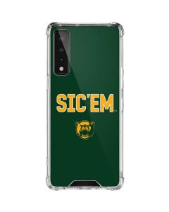 Sic Em Green LG Stylo 7 5G Clear Case