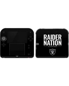 Las Vegas Raiders Team Motto 2DS Skin
