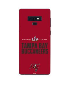 Super Bowl LV Champions Tampa Bay Buccaneers Galaxy Note 9 Skin