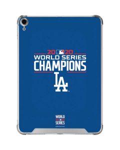 2020 World Series Champions LA Dodgers iPad Air 10.9in (2020) Clear Case
