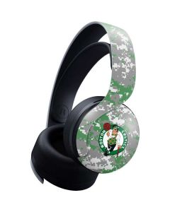 Boston Celtics Digi Camo PULSE 3D Wireless Headset for PS5 Skin