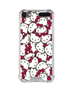 Hello Kitty Multiple Bows Pink iPod Touch (5th-6th-7th Gen) Clear Case