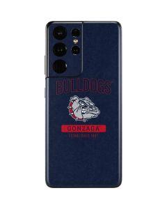 Gonzaga Bulldogs Established 1887 Galaxy S21 Ultra 5G Skin