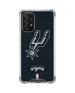 San Antonio Spurs Secondary Logo Galaxy A72 5G Clear Case