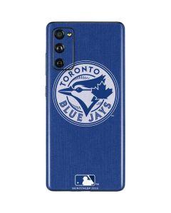 Toronto Blue Jays Monotone Galaxy S20 Fan Edition Skin