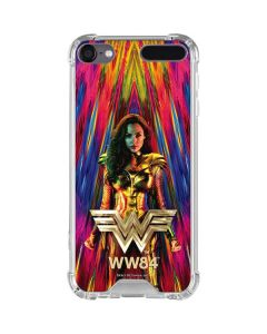 Wonder Woman Color Blast iPod Touch (5th-6th-7th Gen) Clear Case