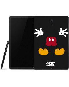 Mickey Mouse Body Samsung Galaxy Tab Skin