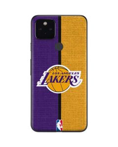 Los Angeles Lakers Canvas Google Pixel 4a 5G Skin