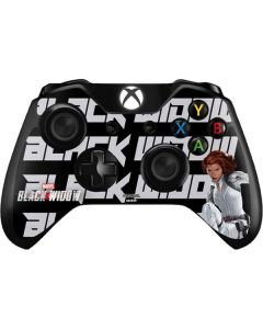 Black Widow Bold Xbox One Controller Skin