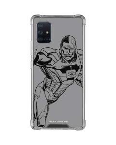 Cyborg Comic Pop Galaxy A51 5G Clear Case