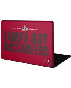 Super Bowl LV Champions Tampa Bay Buccaneers Google Pixelbook Go Skin