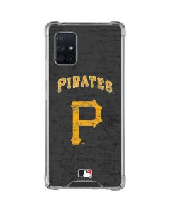 Pittsburgh Pirates - Solid Distressed Galaxy A71 5G Clear Case