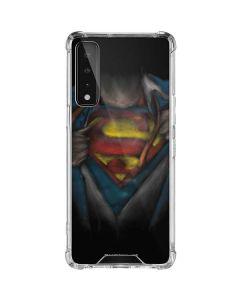 Superman Chalk LG Stylo 7 5G Clear Case