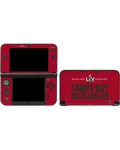 Super Bowl LV Champions Tampa Bay Buccaneers 3DS XL 2015 Skin