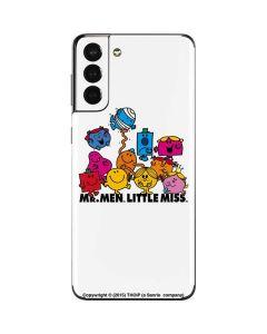 Mr Men Little Miss and Friends Galaxy S21 Plus 5G Skin