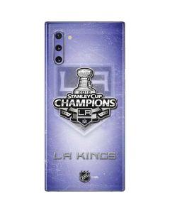 2012 NHL Stanley Cup Champions LA Kings Galaxy Note 10 Skin